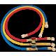 Шланги заправочні з вентилем 150см HONGSEN HS-360-4000-BV комп-т (R410A, 1/4-5/16SAE(45°)-3шт)